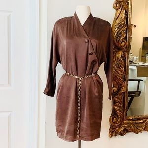 VINTAGE SILK DRESS BY PAPELL